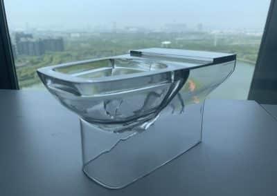 Toilette 3D Transparent SLA
