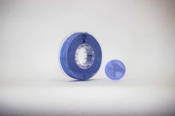 Filament PLA Satiné bleu