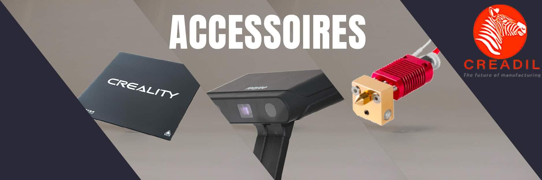 Accessoires imprimantes 3D