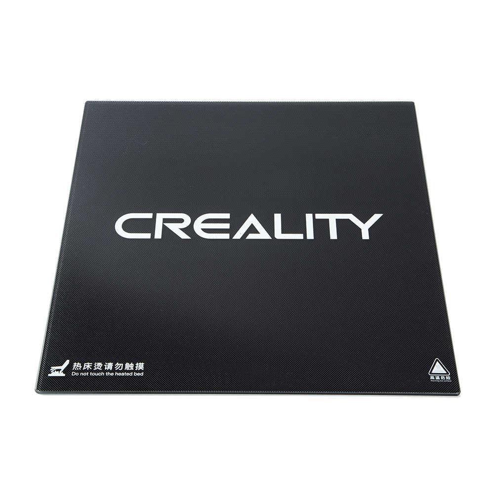 Lit verre carbone silicone Creality