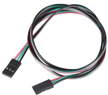 cable 3 pins FF imprimante 3D