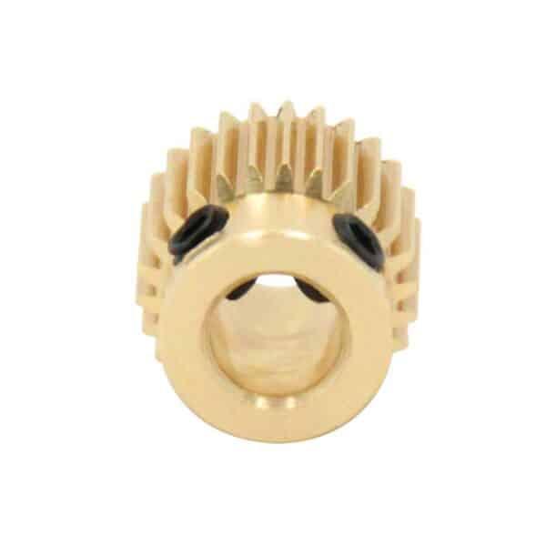 Roue dentée laiton imprimante 3D