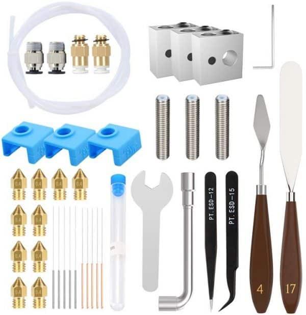 starter kit MK8 imprimantes 3D