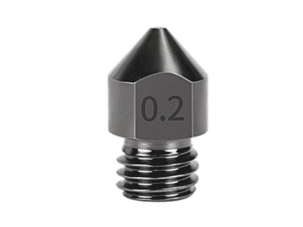 Buse acier trempe 0,2 mm imprimante 3d