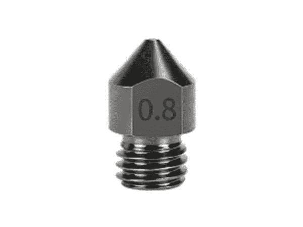 Buse acier trempé 0,8 mm imprimante 3d